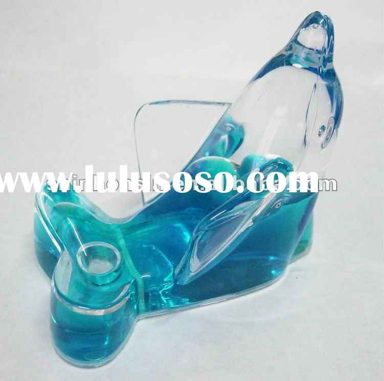 dolphin liquid acrylic mobile phone holder