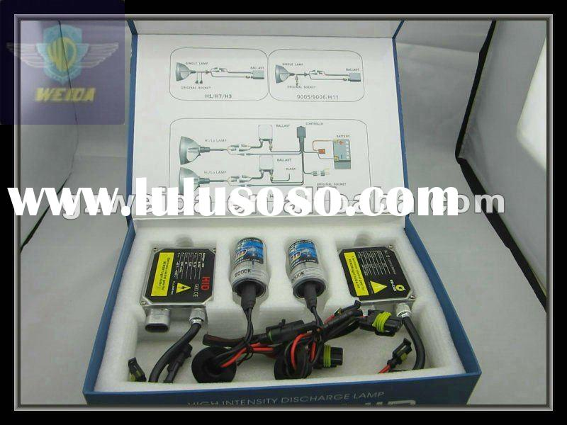 high quality HID kit with slim ballast H1,H3,H4,H7