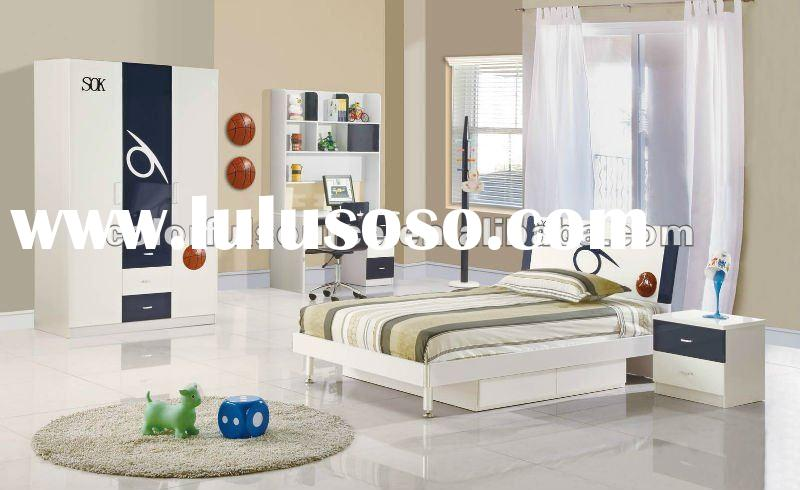 modern boy bedroom furniture sets-611
