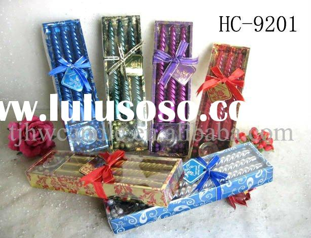 taper candle gift set