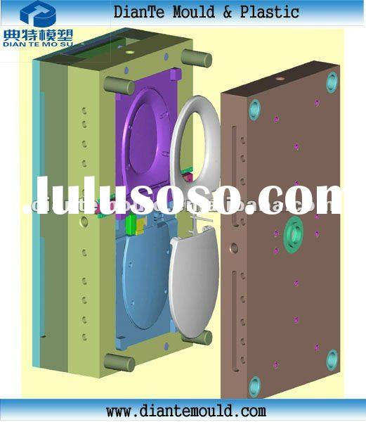 high quality sitting closestool injection molding