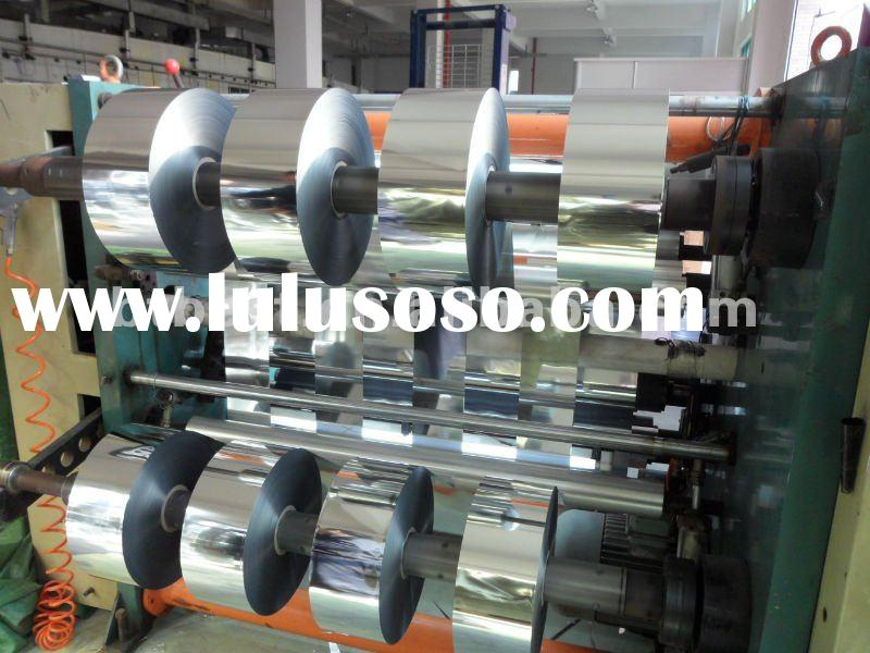 metalized CPP film,silver coated metallized pet film,metallic polyester pet film