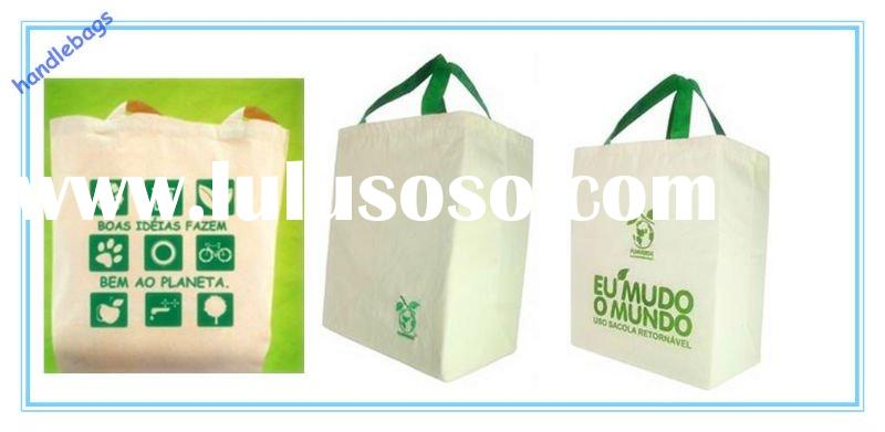 Cotton shopping bag for promotion (CL-A005)