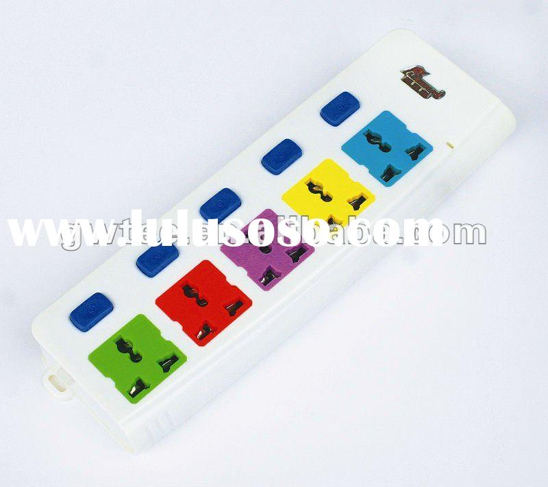 FXD-362 5-way Color Electrical Switch and Socket
