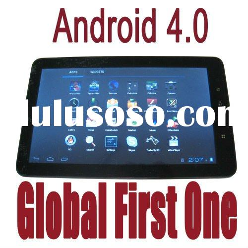 Global first one latest android4.0 tablet pc 1GB DDRIII 4-32GB HDD wifi HDMI MID