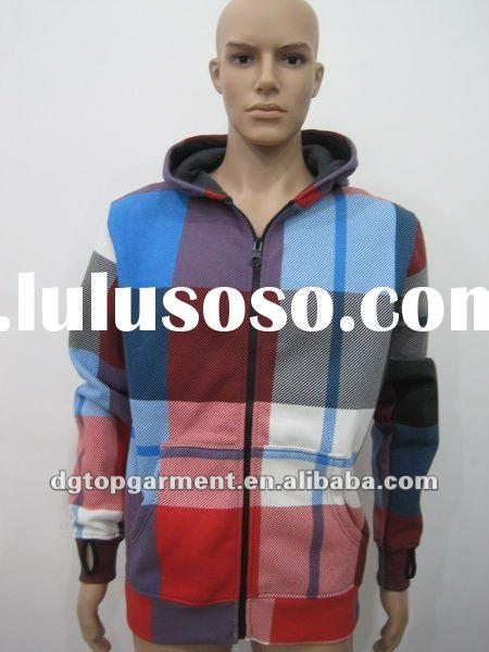 Men's casual jacket with hood
