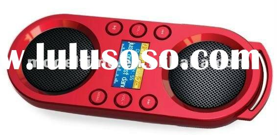 Portable Speaker with LCD display & USB/SD card play Mp3/WMA Music