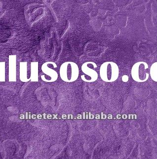 embossed suede synthetic suede 100% polyester fabric