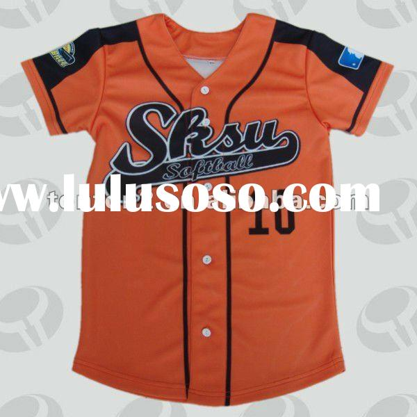 2012 Team Custom Sublimation baseball jersey