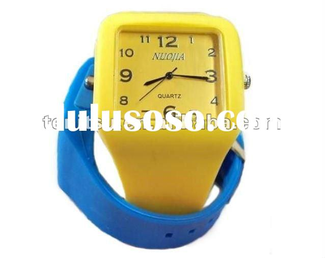 2012 hot sale silicone watch band