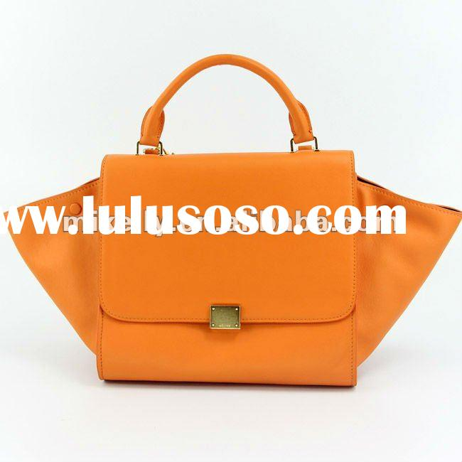Hottest fashion ladies leather designer handbag 2012