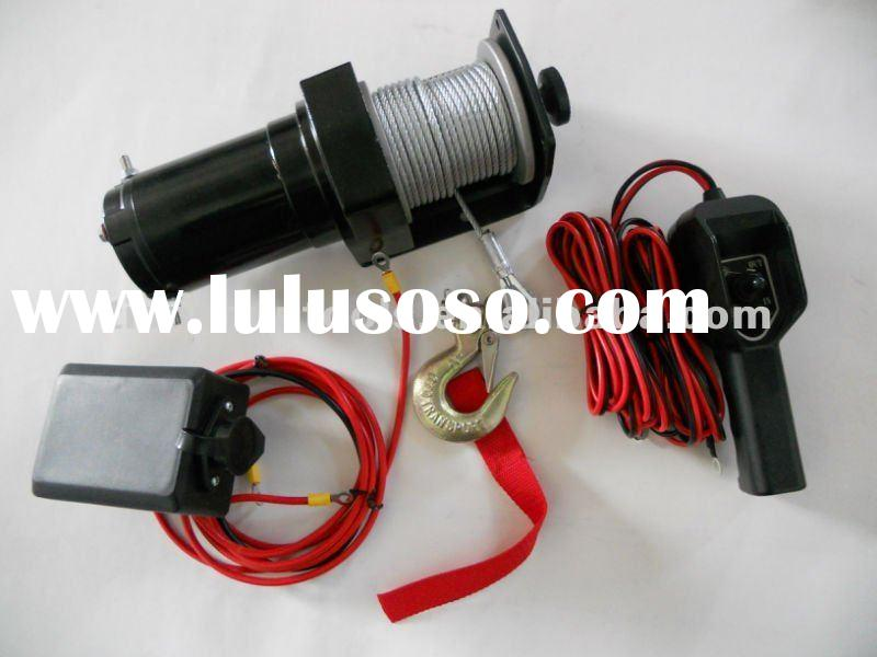 Portable 12v Electric Boat Winch 3000lbs For Sale Price