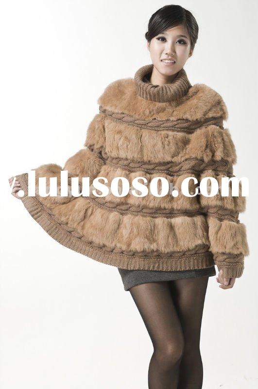 New Design Women Fashion fur coat