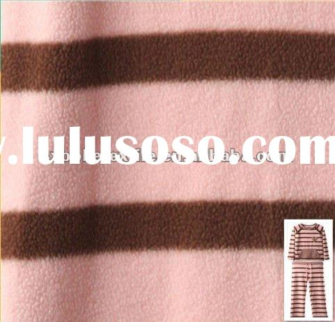 100% polyester DTY 150D/144F printed polar fleece fabric/two sides brushed and one side anti-pilling