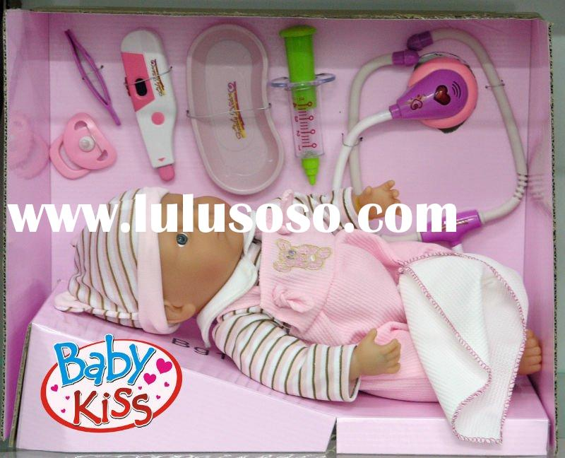 Baby Kiss- doll(doctort set)
