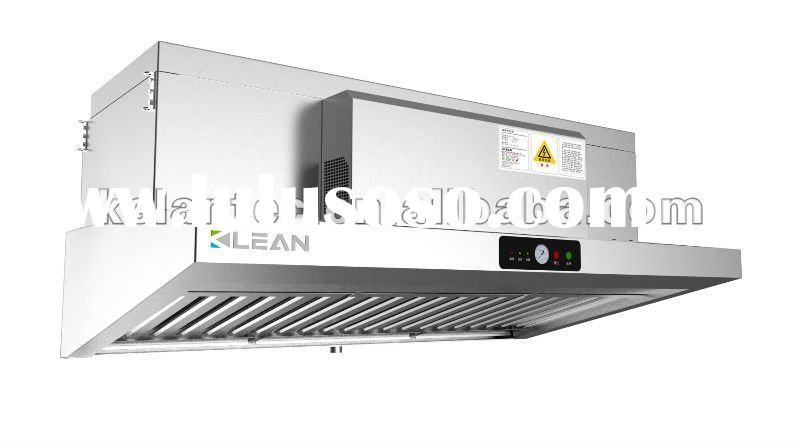 Commercial Exhaust Hood with Electrostatic Precipitator