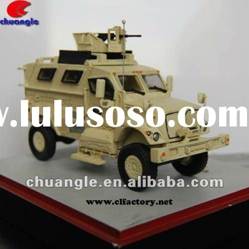 Custom model cars, plastic model crafts, scale toy model---Armored Car Model