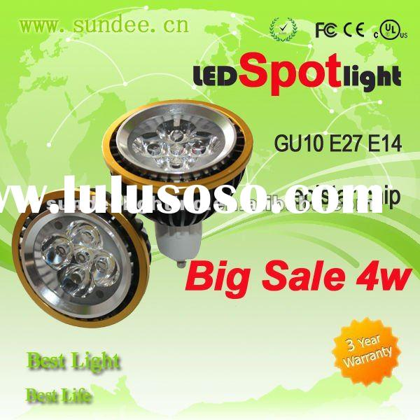 GU10 high power led spot light with big sale
