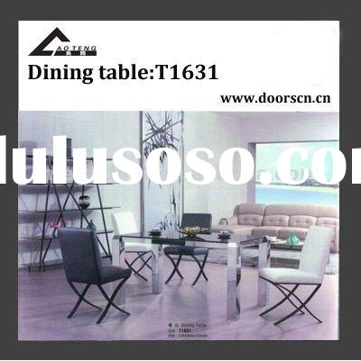 Tempered Glass top modern furniture T1631