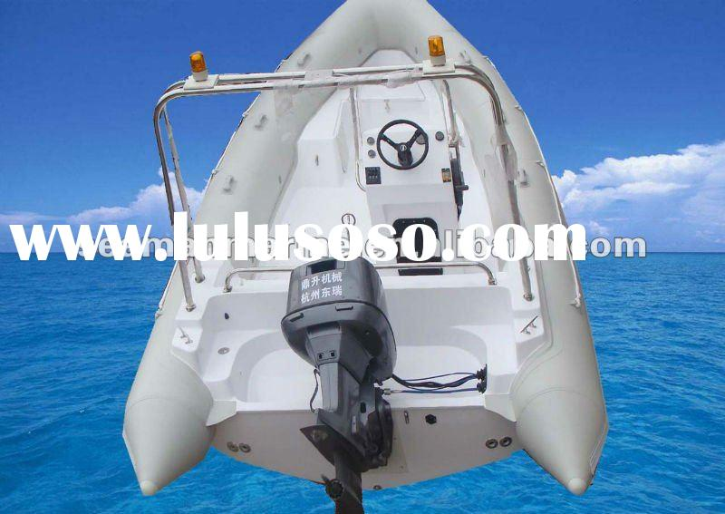 The 6.8 meter Hypalon inflatable rib boat