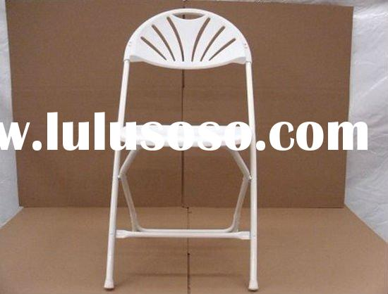 Metal Folding Chairs In Hotel Conference Room