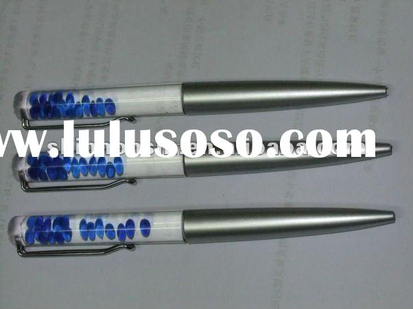 floating liquid metal pen for promotional use