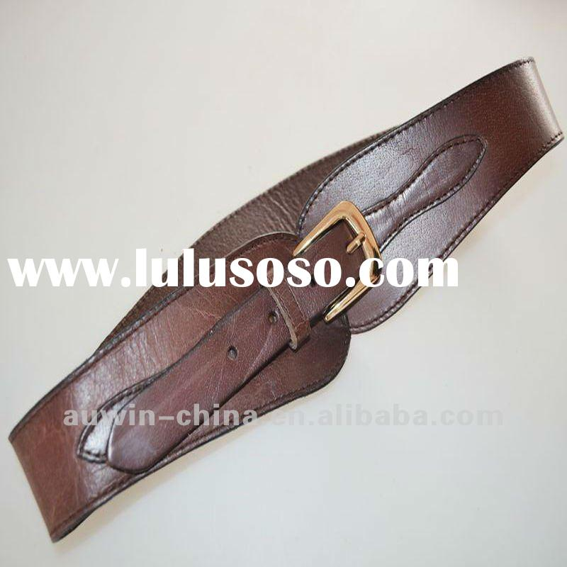 2012 Fashion Casual Woman Pu Elastic Belt