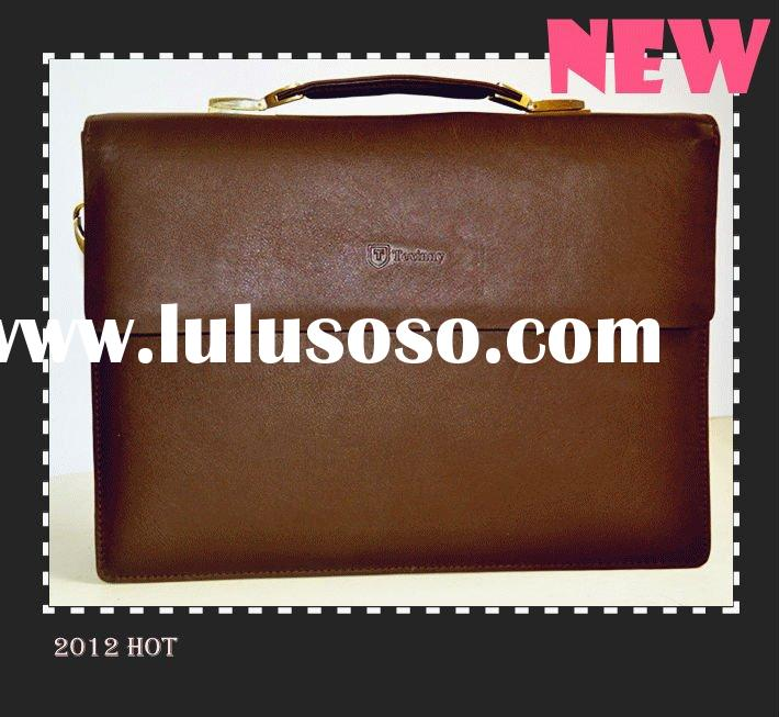 2012 stylish handbags genuine leather handbags(50years factory)
