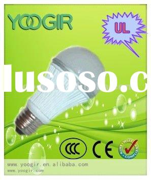 6W E27 UL dimmable LED bulb