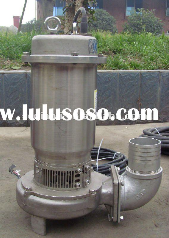 Full head High-temprature Stainless Steel Non clogging Submersible Electrical Pump