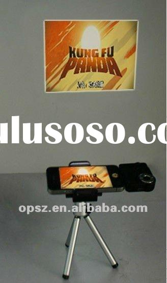 Wholesale Price for Overhead Mini Projector 450MA LCoS Technology For Iphone,Ipad,Ipod