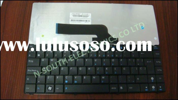 laptop keyboard for ASUS K40 SP black V090462AK1 0KN0-CX1SP01 spainsh teclado