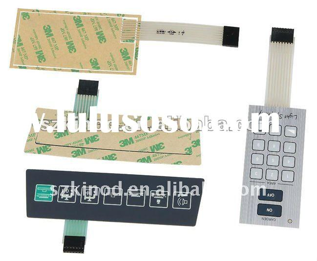 polycarbonate graphic overlay membrane keypad panel