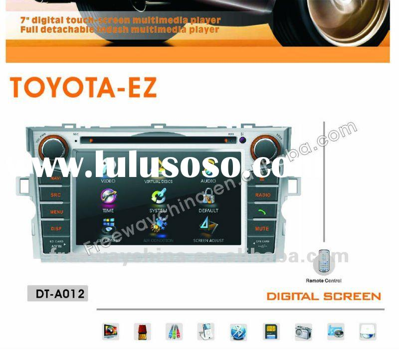 7 inch car dvd player (DT-A012) TOYOTA EZ