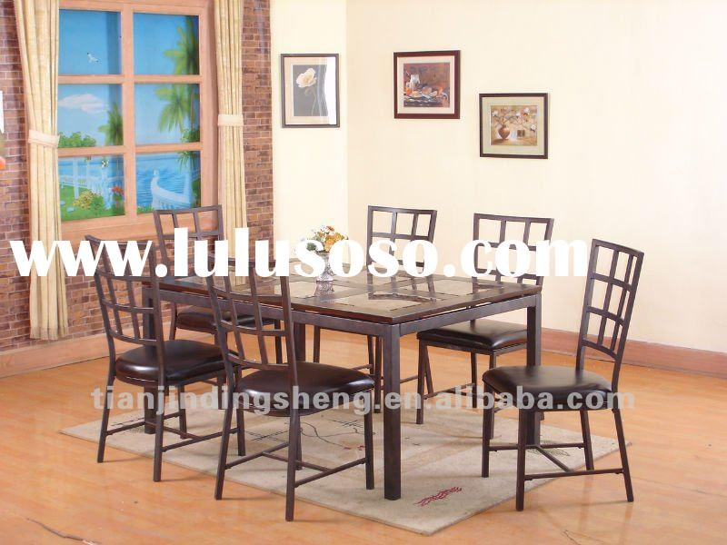 Dining room furniture-Faux Marble table top
