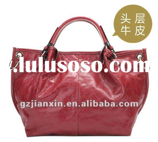 Hot sell and high quality ladies PU handbags