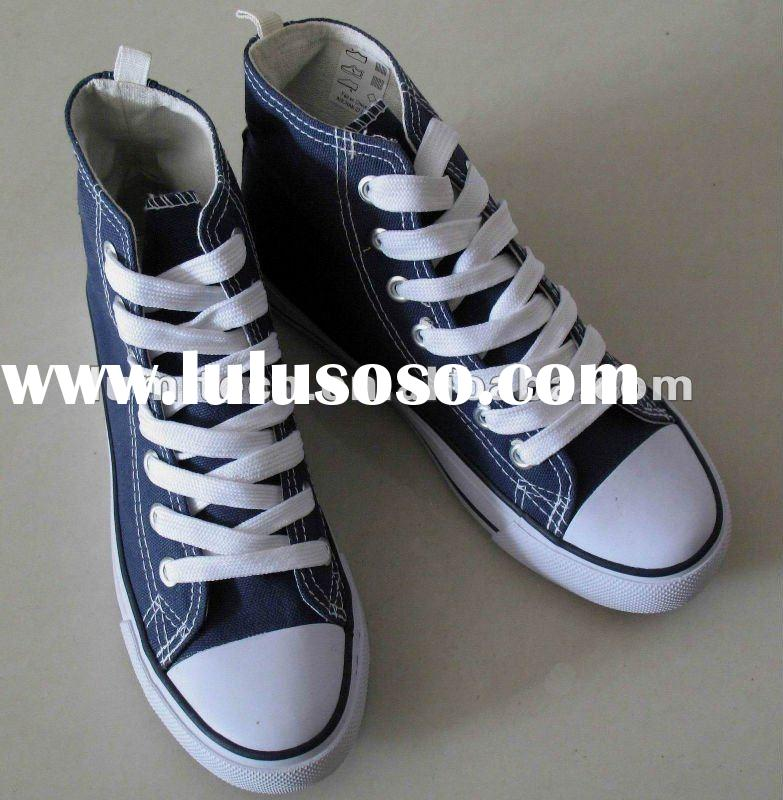 Classical vulcanized canvas shoes