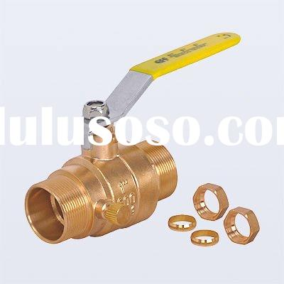 Drain Brass Ball Valve (Comp * Comp)