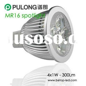 Low price high quality MR16 4*1W LED spotlight