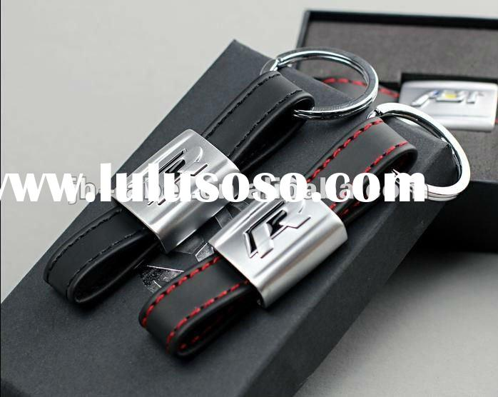 New Style branded leather car key chain