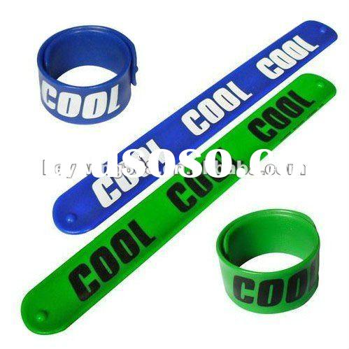 ROHS SGS Funny Silicone Snap Wristband