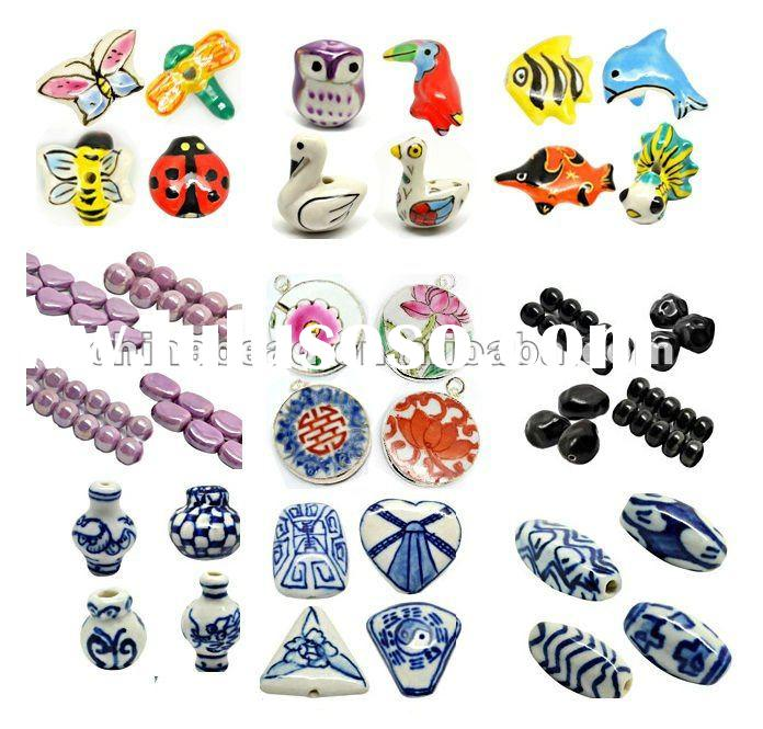fashion kinds of ceramic/procelain beads