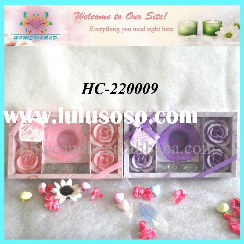 rose candle gift sets