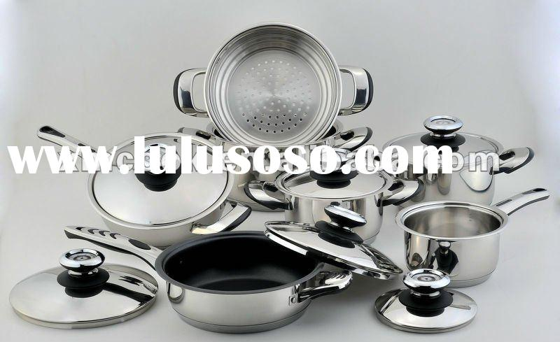 13pcs/set stainless steel cookware
