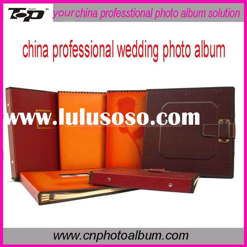 2011 china professional wedding photo album (classic style)