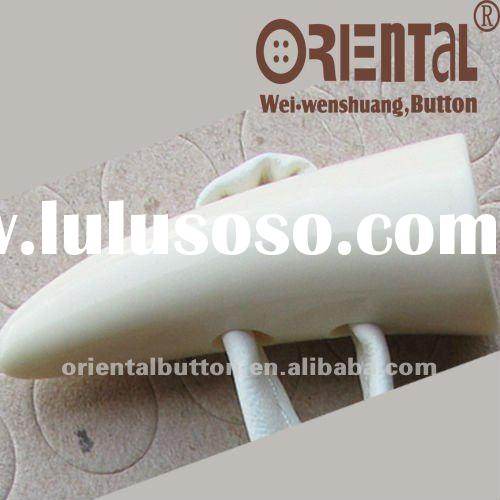 2Holes 50mm high quality off white coat Toggle buttons
