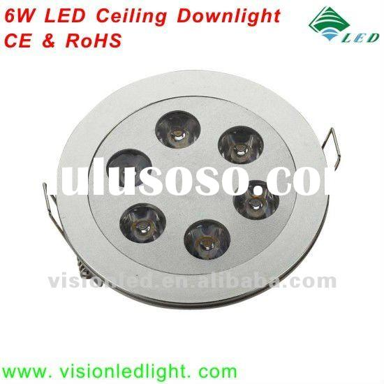 High Quality Round 6W LED Ceiling Light