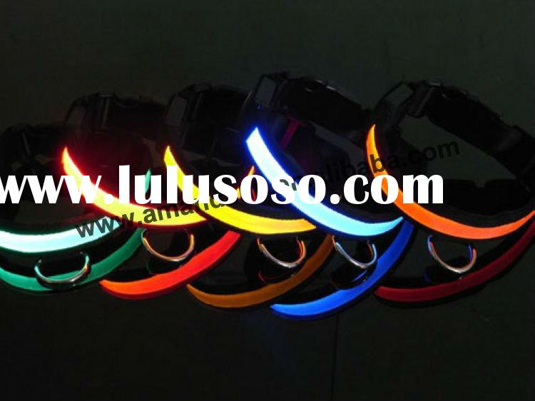 New flashing LED pet collar,pet party collars
