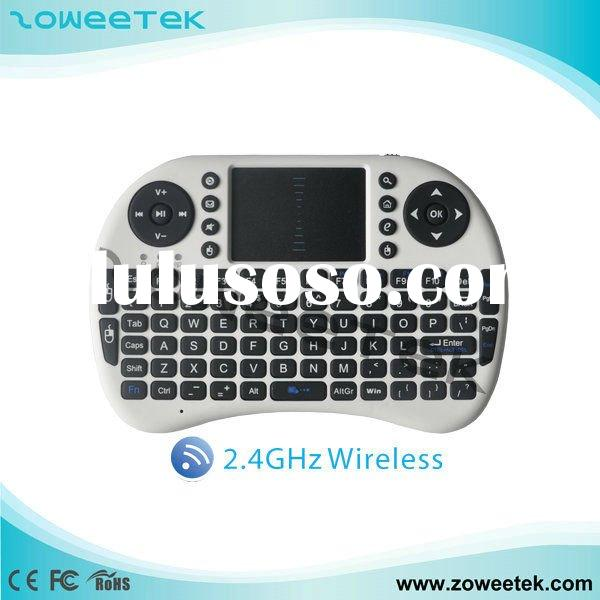 For Ipad, PS3, IPTV, PC, Xbox 360, Android TV box Mini Keyboard with Touchpad