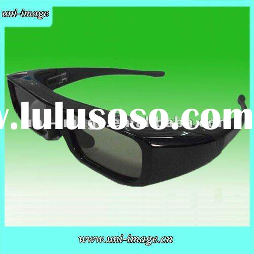 New come rechargeable active shutter 3d TV glasses